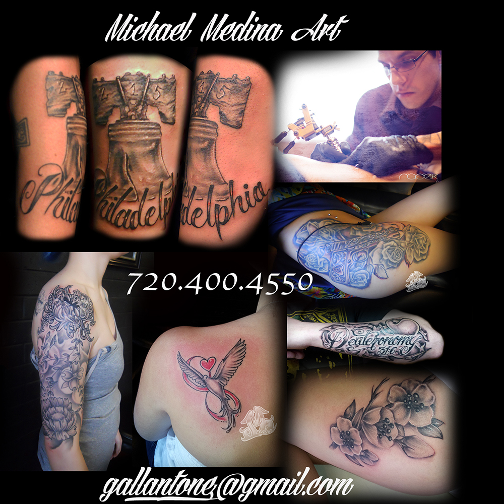 Colorado springs tattoo michael medina art for Tattoo shops in colorado springs