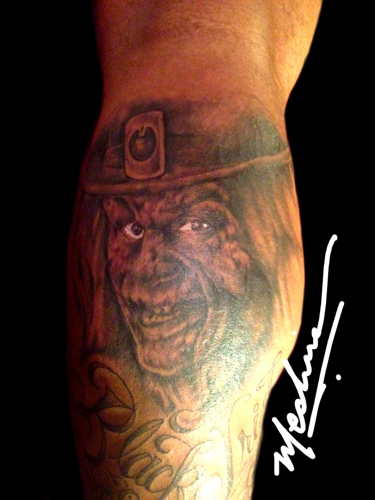 Leprechaun Tattoo by Michael Medina